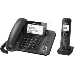 Telefon fără fir Panasonic KX-TGF320UCM Titanium