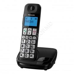 Telefon fără fir Panasonic KX-TGE110UCB Negru