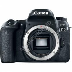 Cameră foto Canon EOS 77D Negru