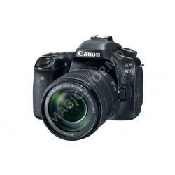 Cameră foto Canon EOS 80D + EF-S 18-135 IS USM  KIT negru