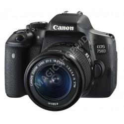 Cameră foto Canon EOS 750D + 18-55 IS STM KIT negru