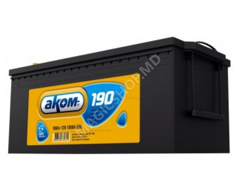 Acumulator AKOM 12V 190 Ah 1000 A (EN)
