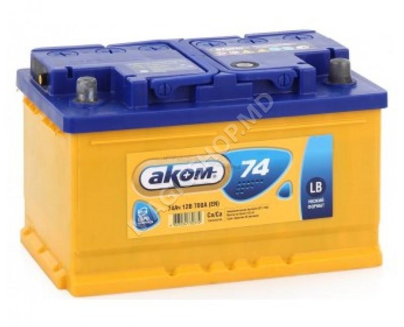 Acumulator AKOM 12V 74 Ah 700 A (EN)