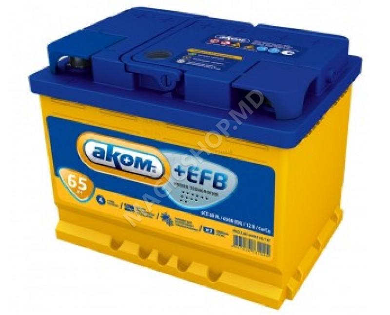 Acumulator AKOM 12V 65 Ah 580 A (EN)