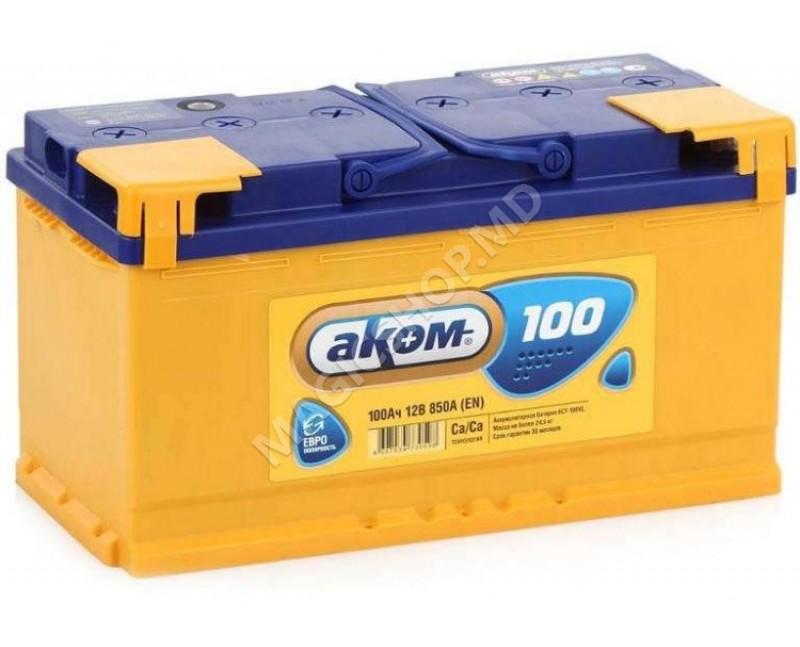 Acumulator AKOM 12V 100 Ah 850 A (EN)