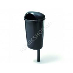 Urnă pentru gunoi Polietilenă 50 l negru