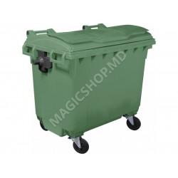 Container pentru deseuri 660 L verde
