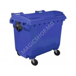 Container pentru deseuri 660 L albastru