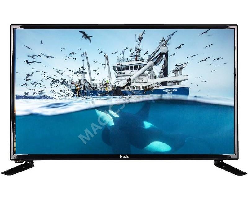 Televizor BRAVIS LED-28D1070 + T2 black Negru
