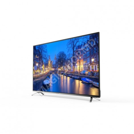 Televizor BRAVIS UHD-45F6000 Smart +T2 black Negru