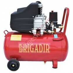 Compresor Бригадир AC50-27 rosu